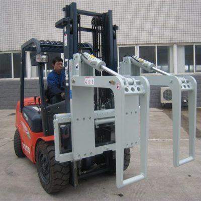 Porta tronchi per carrello elevatore idraulico