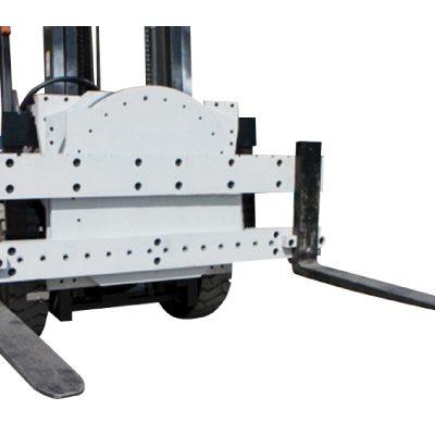 Attacco rotatore per carrello elevatore per impieghi gravosi in vendita