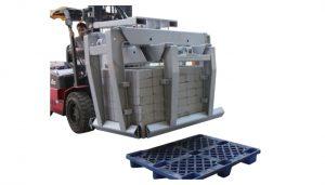 Attacco per carrello elevatore Morsetto per blocchi di calcestruzzo Classe 3 eamp;