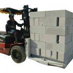 Carrello elevatore idraulico per calcestruzzo / morsetto di sollevamento del blocco