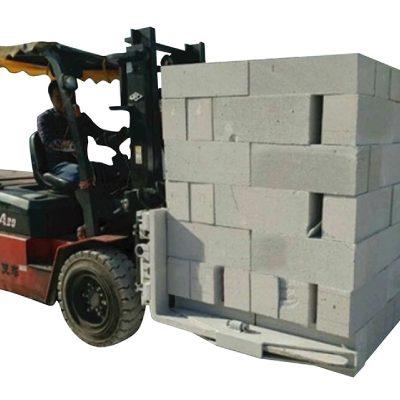 Morsetto di sollevamento idraulico del carrello elevatore del blocco di mattoni del calcestruzzo