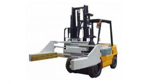 Morsetti per blocchi per carrelli elevatori o morsetti per mattoncini Morsetti per blocchetti per carrelli elevatori senza spostamento da 2,5 t