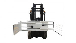 Morsetto per balle girevole idraulico efficiente per carrello elevatore