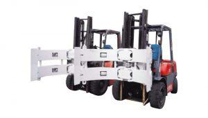 Componenti per carrelli elevatori Accessori per carrelli elevatori Morsetto in acciaio per rotore di carta
