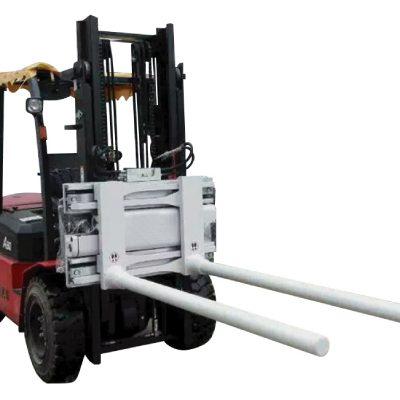 Morsetti con braccio mobile laterale con carrello elevatore