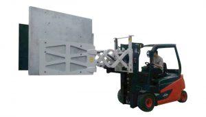 Morsetti di cartone con spostamento laterale di 1,2 tonnellate