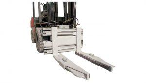 Morsetto per blocco idraulico dell'attacco per carrello elevatore
