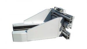 Morsetto per blocco di calcestruzzo per carrelli elevatori