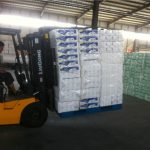 Stabilizzatore di carico idraulico dell'attrezzatura industriale meccanica per carrello elevatore