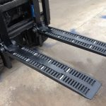 Forcelle per carrelli elevatori tipo WF2A1100 in vendita