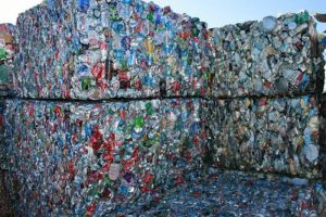Imballaggio dei rifiuti